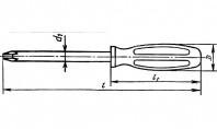 Отвертка КШ №2х200 (с винтодержателем)